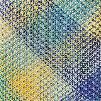 Nylon touwbinding patroon