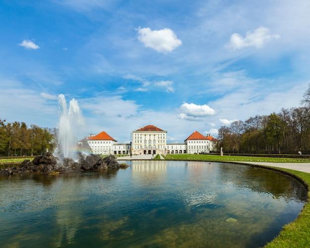 Nymphenburg palace. munchen, duitsland