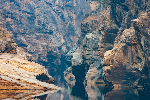Ob khan national park grand canyon in chiang mai, thailand.