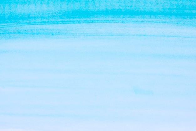 Oceaan blauwe golven aquarel verf achtergrond