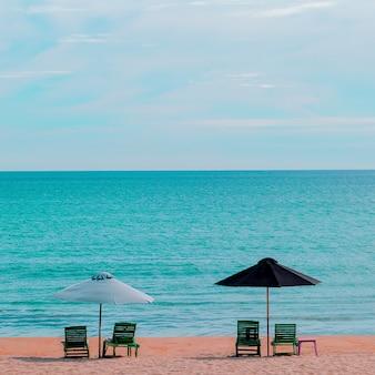 Oceaan tropisch uitzicht vietnam reizen mode concept