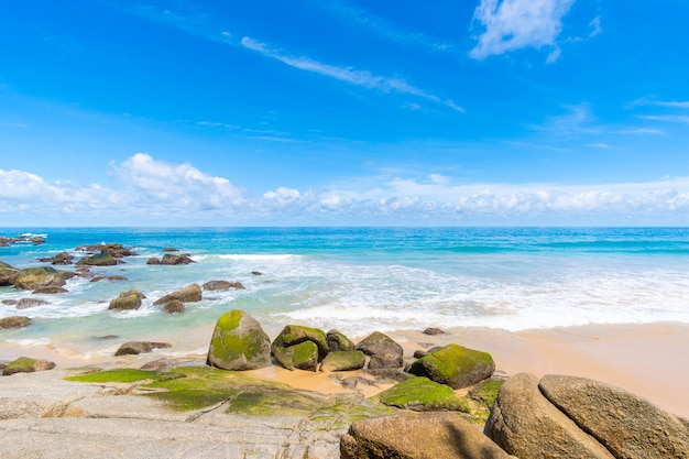 Oceaankust en strandzand