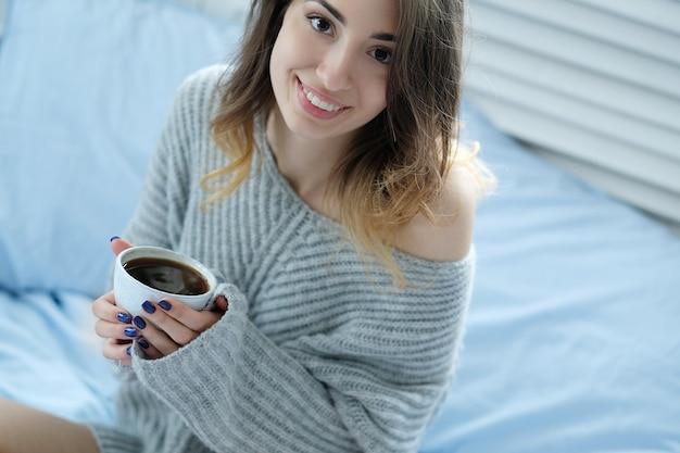 Ochtendontbijt, warme drank
