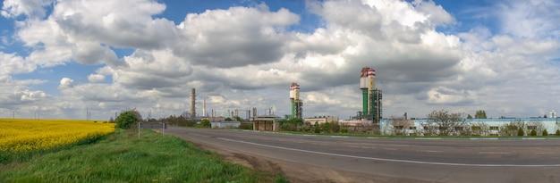 Odessa port plant in oekraïne