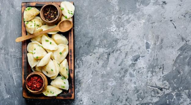 Oekraïense aardappelbollen