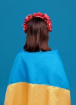 Oekraïne patriottisch concept