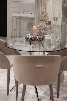 Сoffee tafel met decoraties