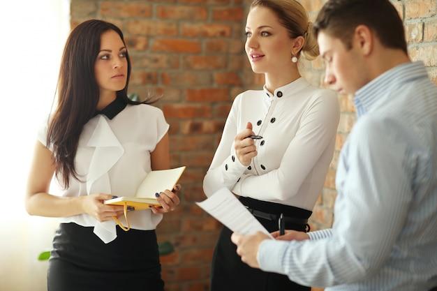Office vergadering