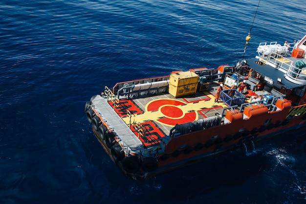 Offshore bout industrie olie- en gasproductie aardolie.