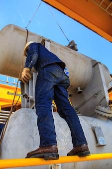 Offshore-industrie olie- en gasproductie aardoliepijpleiding