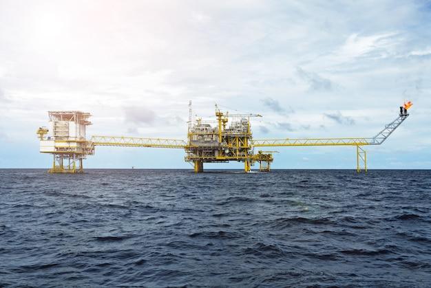 Offshore olieplatform