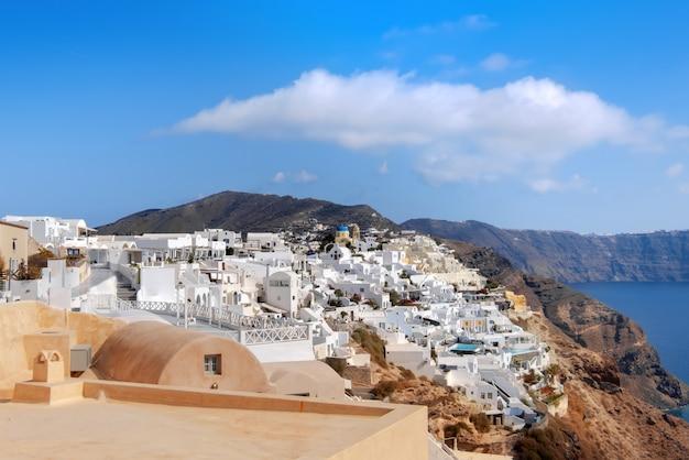 Oia dorp, santorini eiland, griekenland