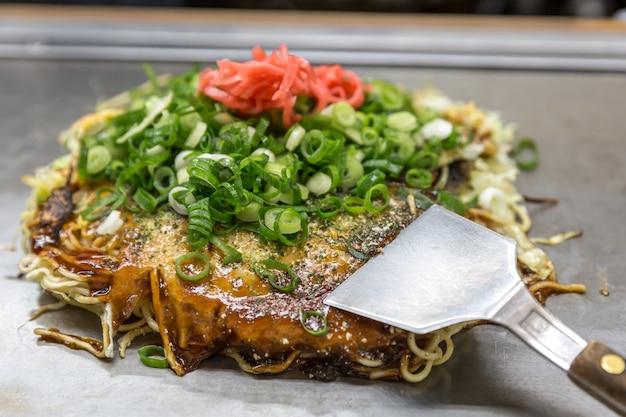 Okonomiyaki japanse pizza