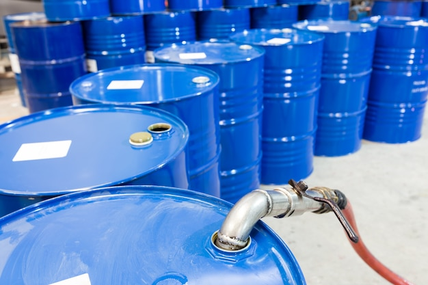Olie barel tank