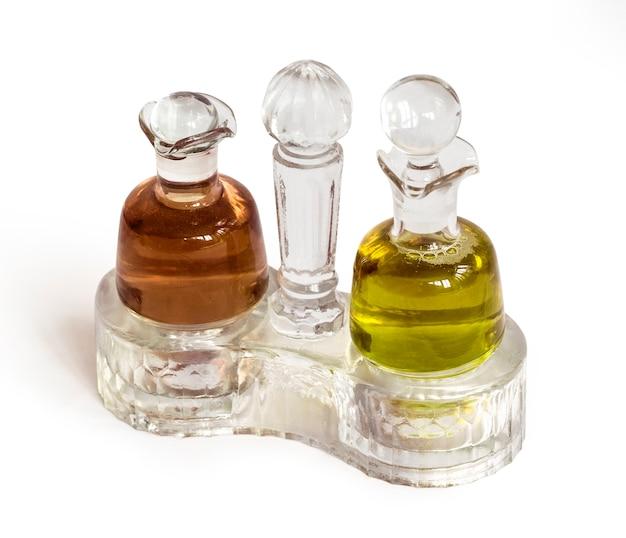 Olie en balsamicoazijn