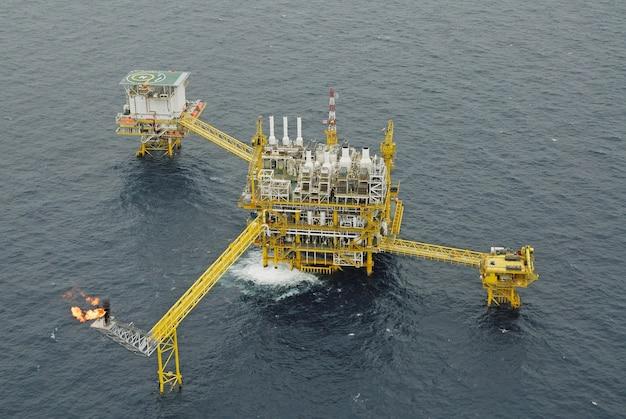 Olie- en gasproductieplatform