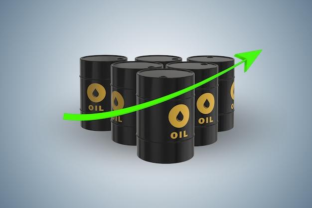 Olieprijzen opgroeien