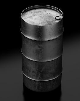 Olievat op donker