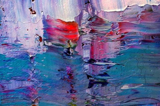 Olieverf op doek textuur abstracte achtergrond