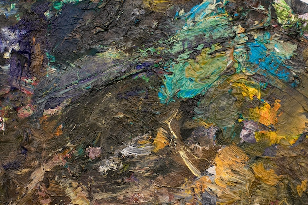 Olieverf palet
