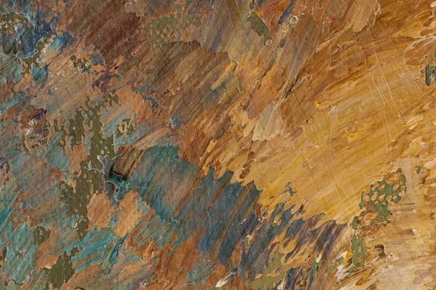 Olieverfschilderij abstracte acryl kunst achtergrond