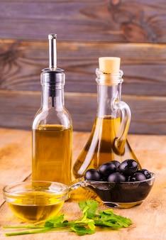 Olijfolie, beker van vierge olijfolie