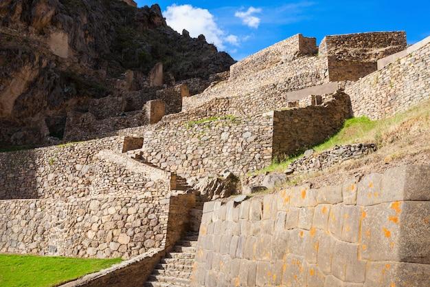Ollantaytambo-ruïnes