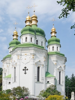 Olod-tempel in de hoofdstad van de stad oekraïne-kiev.