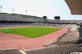 Olympisch stadion, barcelona, spanje