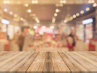 Om voedsel tafel lege achtergrond