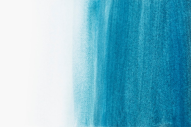 Ombre blauwe zee aquarel achtergrond abstracte stijl