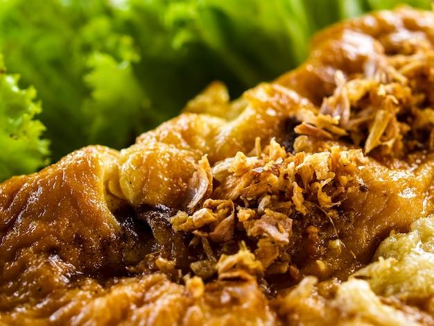 Omelet thais eten