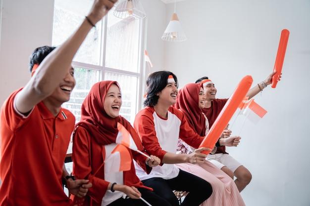 Onafhankelijkheidsdag indonesische supporter