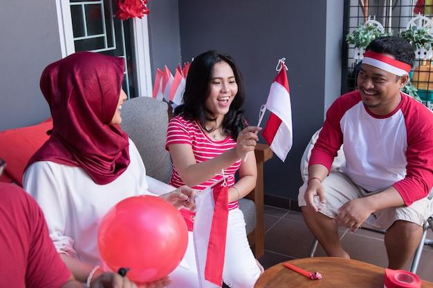 Onafhankelijkheidsdag viering indonesië