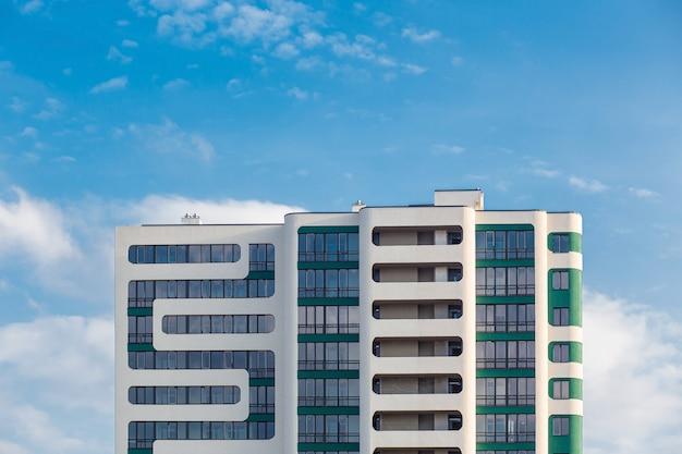 Onderdeel van een modern appartement met meerdere appartementen