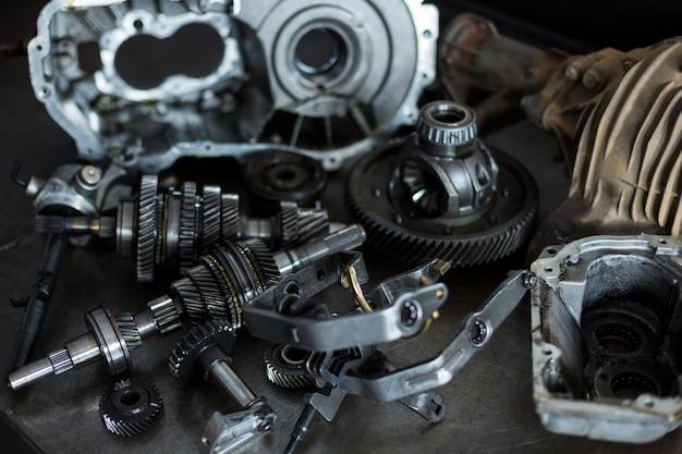 Onderdelen van auto