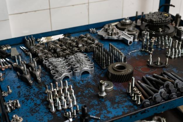 Onderdelen van machinemotor motoronderdelen