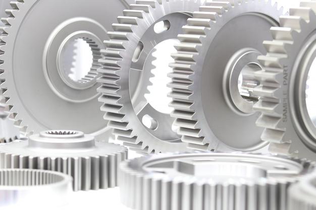 Onderdelen voor industriële tandwielen voor zware machines