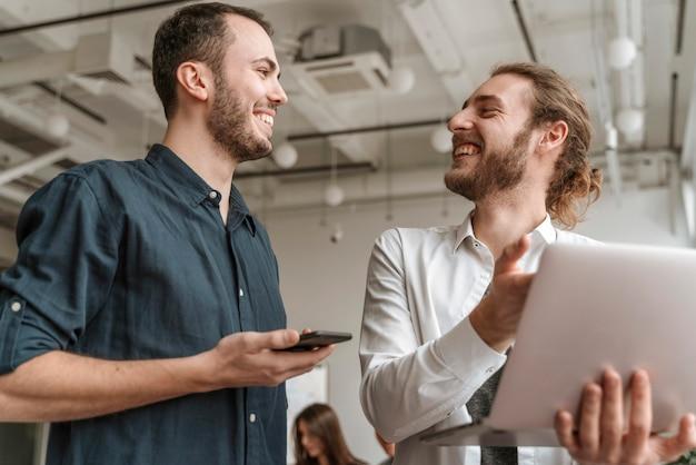 Ondernemers werken samen