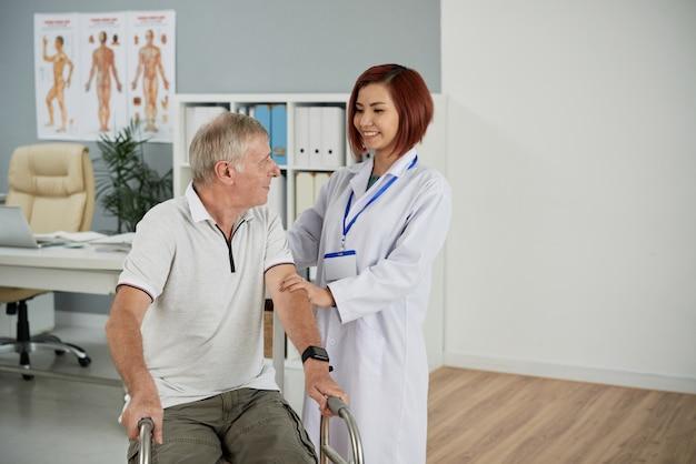 Ondersteunende patiënt