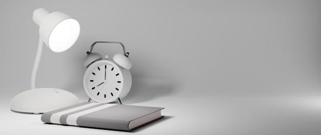 Onderwijs concept. 3d van boek op witte achtergrond. modern plat ontwerp isometrisch concept