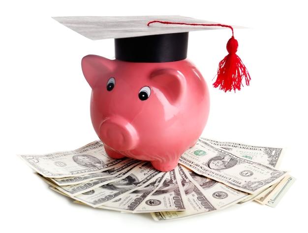 Onderwijs kosten concept