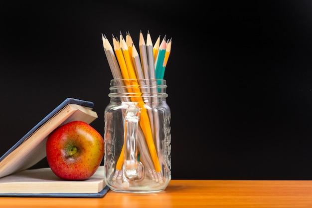 Onderwijs of terug naar school concept.