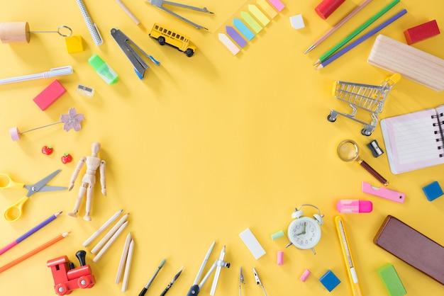 Onderwijs, terug naar school concept met kopie ruimte