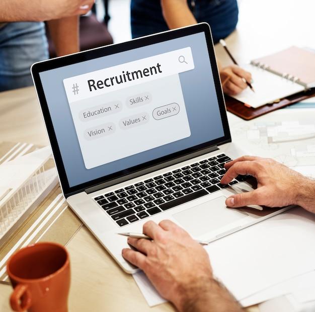 Onderwijsvaardigheden recruitment word search