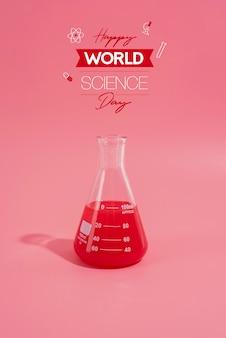 Onderzoekssamenstelling wereldwetenschapsdag