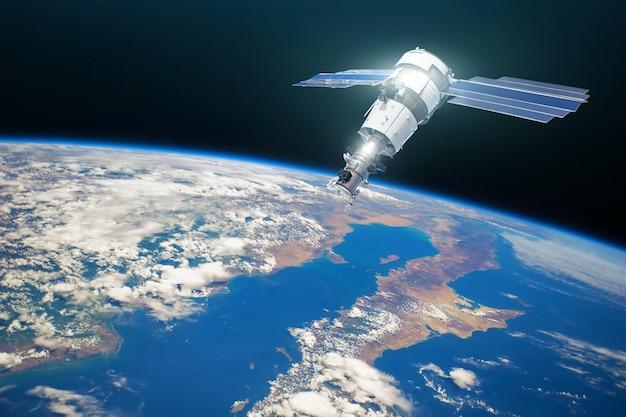 Onderzoekssatelliet in baan om de aarde