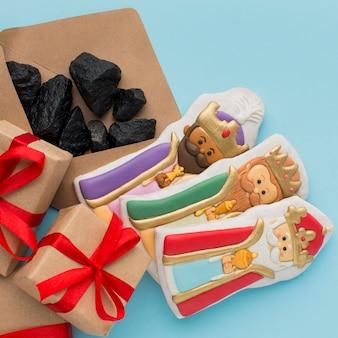 Ondeugende geschenken met kolenerts