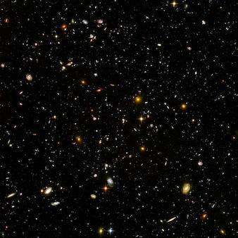 Oneindig oneindigheid heelal ruimte sterrenstelsels