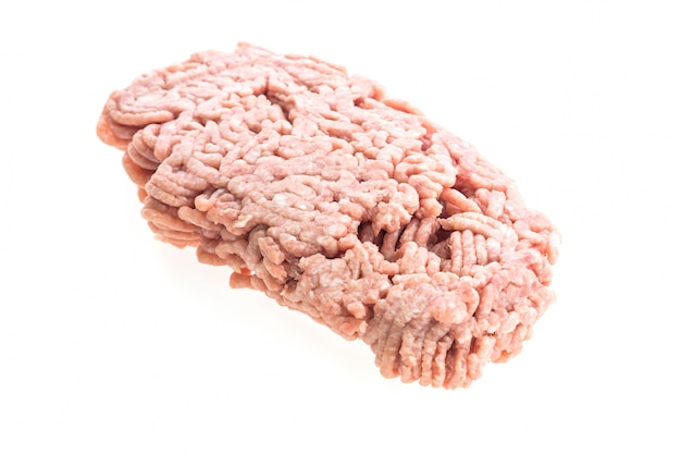 Ongekookt achtergrond grond raw rood